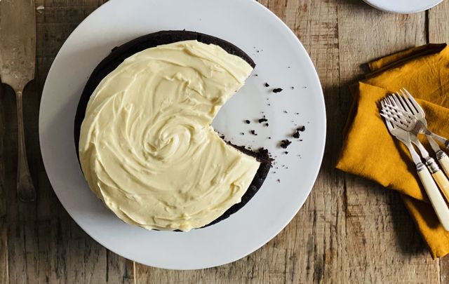 Delicious Guinness chocolate cake