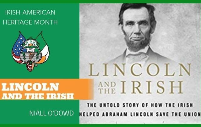 """Tune into \""""Lincoln and the Irish\"""" on March 27 at 1 pm EST."""