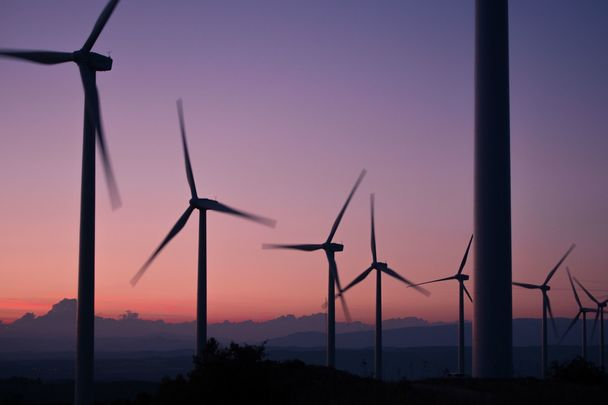 Ireland generated 36.3% of its power, through wind during the past year.