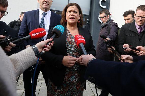Sinn Féin leader Mary Lou McDonald debated the issue