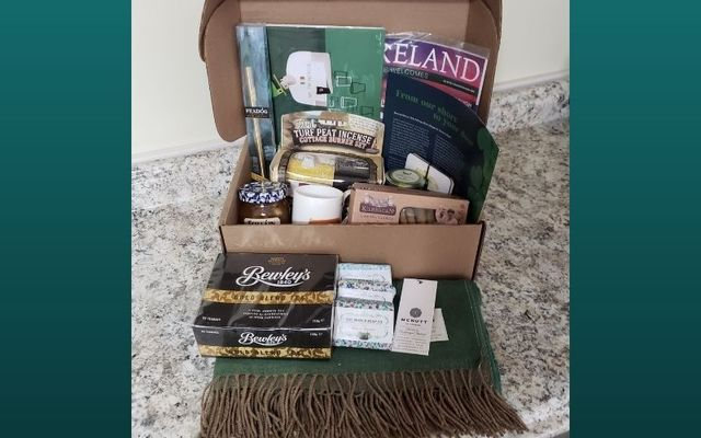 The IrishCentral Box: A box full of Irish products awaits you with every delivery.