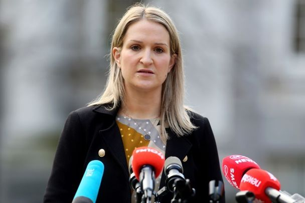 Ireland\'s Minister for Justice Helen McEntee.