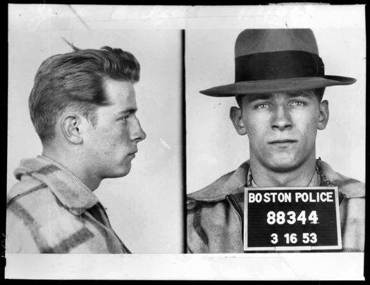 An old mugshot of Whitey Bulger.