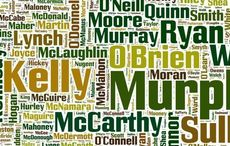 What does the apostrophe in Irish names mean?