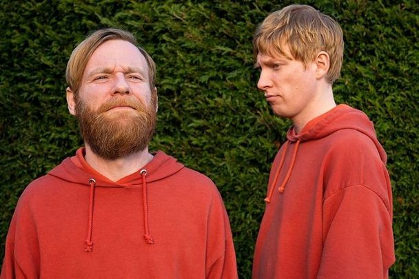 "Brian Gleeson and Domhnall Gleeson star in the new Irish comedy ""Frank of Ireland.\"""