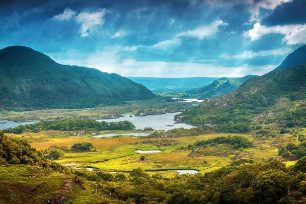 Ladies View in Killarney National Park in Co Kerry.