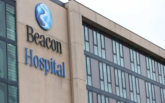 The Beacon Hospital in South Dublin has apologized for the incident.