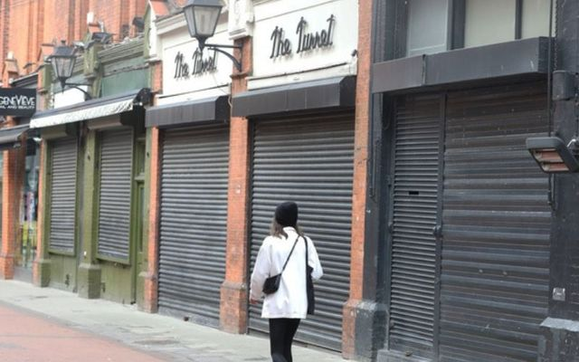 Shops and restaurants have remained continuously closed in Ireland over the past 100 days.