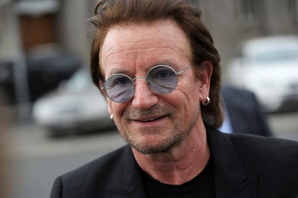 U2\'s frontman and activist Bono.
