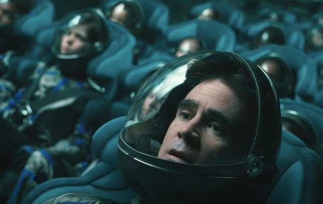 Colin Farrell in Voyager.