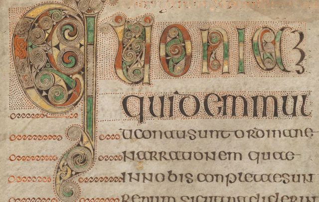 Trinity College Dublin: Book of Durrow, 7th century.