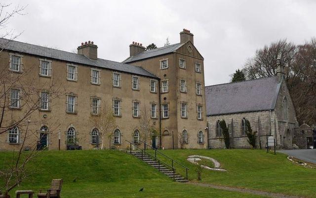 The former English military barracks at Glencree.
