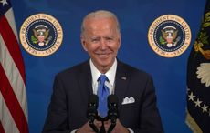 WATCH: Welcoming naturalized citizens, President Biden points to his own Irish ancestors
