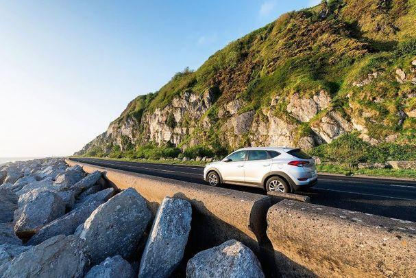 A drive along the Antrim coast.