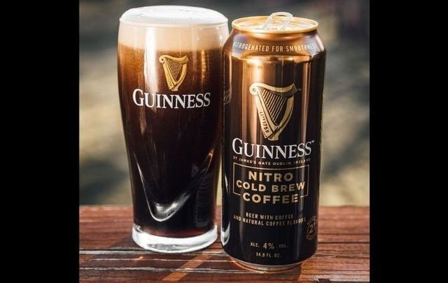 Brand new Guinness Nitro Cold Brew Coffee Beer