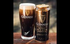 It's iced coffee season! Check out Guinness' Nitro Cold Brew Coffee Beer