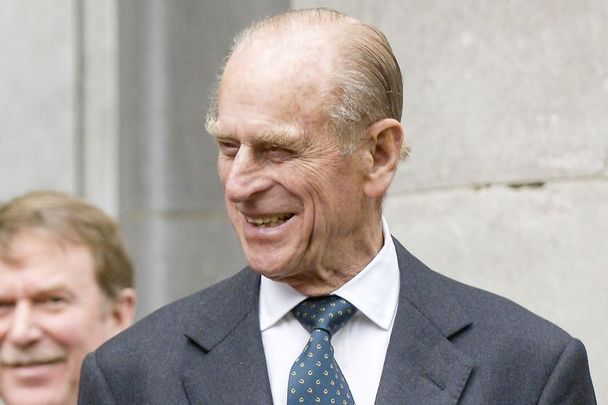 April 26, 2006: Prince Phillip, The Duke of Edinburgh, at the National Concert Hall in Dublin after they jointly presenting with President Mary McAleese 91 Gaisce Gold Awards to 91 young adults.