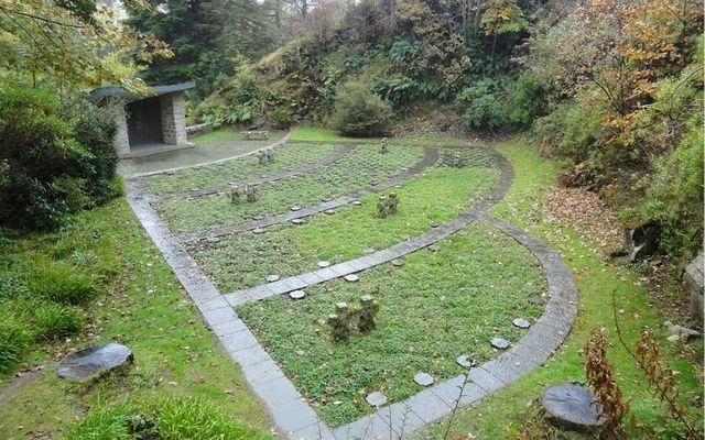 The German Military Cemetery in Glencree was visited by Charlie Chaplin in the 1960s during one of his many visits to Ireland.