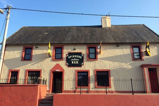 Spinner\'s Bar in Co Kilkenny, part of Sinead Coady and Seamus Hennessy\'s raffle.