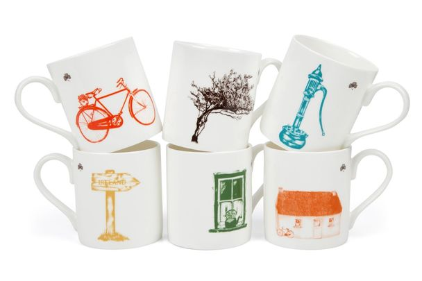 Sealed with Irish Love fine bone china mugs are their most popular product