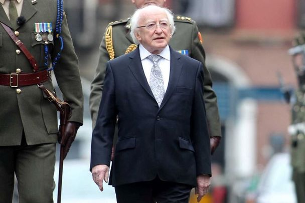 President of Ireland, Michael D. Higgins turns 80 years old on April 18.