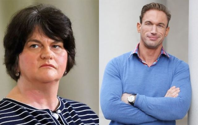 Arlene Foster has brought forward a legal case against UK celebrity doctor Christian Jessen