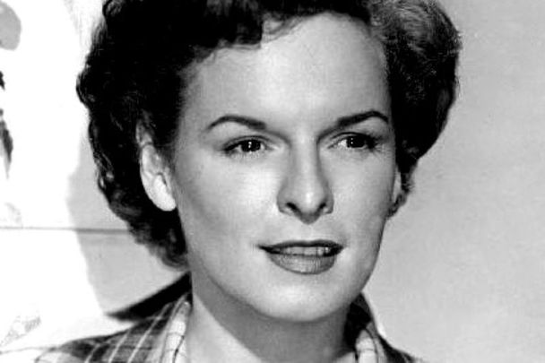 1950: Publicity photo of Mercedes McCambridge in All the King\'s Men, her first film and for which she won an Oscar for best supporting actress.