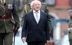 Michael D. Higgins shows off new puppy on Late Late Show ahead of 80th birthday