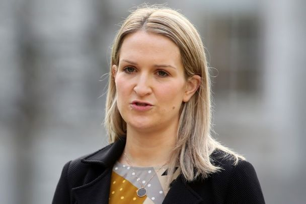 Ireland\'s Minister for Justice Helen McEntee, pictured in December 2020.