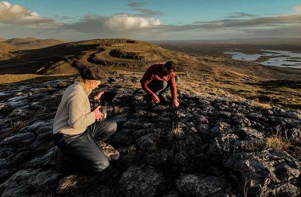 ""\""""The Burren: Heart of Stone"""" - a two-part series by Lahinch-based filmmaker Katrina Costello reveals the story of the reindeer bone discovery.""618|405|?|en|2|628ad2511968337667e3e37de0aac50d|False|UNLIKELY|0.3090859651565552