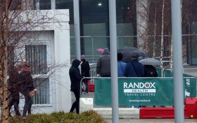 Randox operates PCR testing at Dublin Airport.
