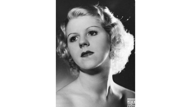 """Margaret Kelly, aka \'Miss Bluebell\"""" - the most famous showgirl of all time."""