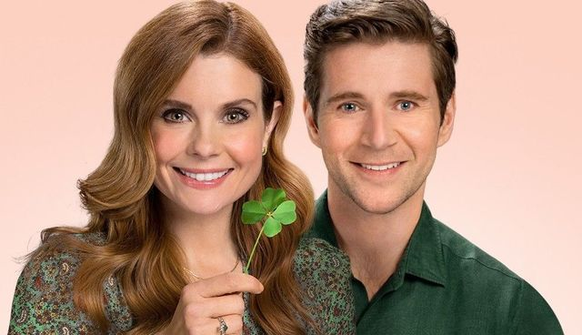 "JoAnna Garcia Swisher and Allen Leech star in Hallmark Channel\'s \""As Luck Would Have It.\"""
