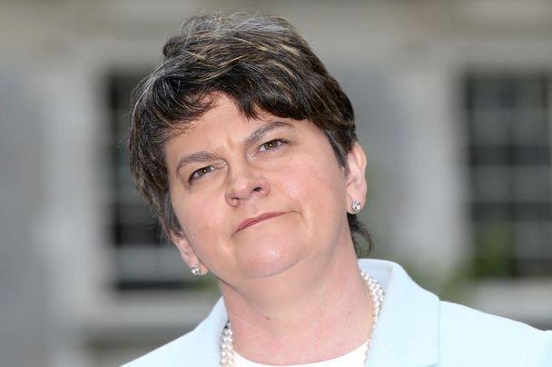 Arlene Foster in Dublin in 2017.