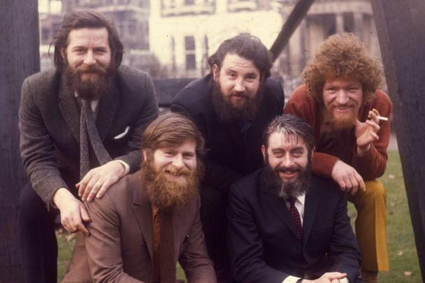 The Dubliners pictured in 1970.