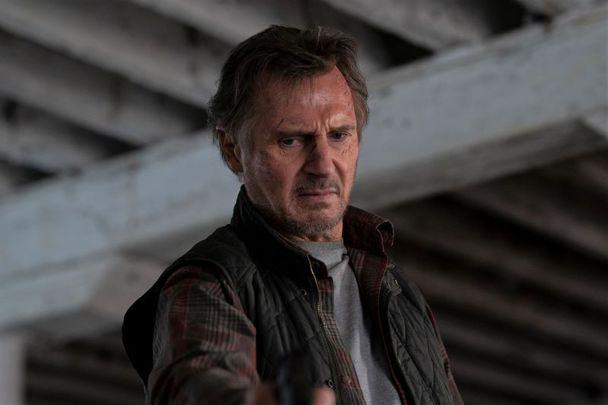 Liam Neeson in The Marksman.