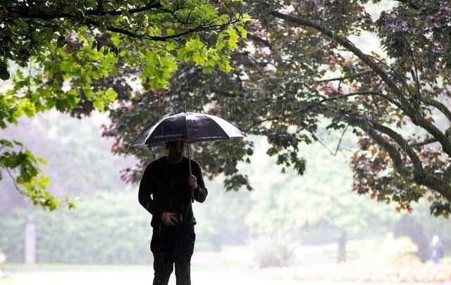 A rainy day in Ireland.
