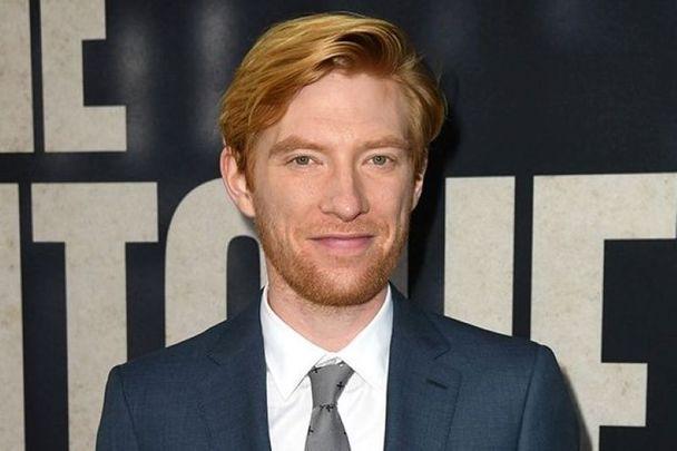 Irish actor Domhnall Gleeson.