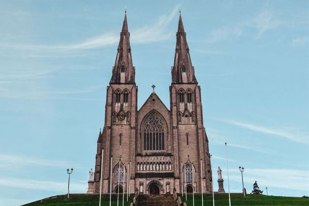 Saint Patrick\'s Cathedral in Armagh, Northern Ireland.