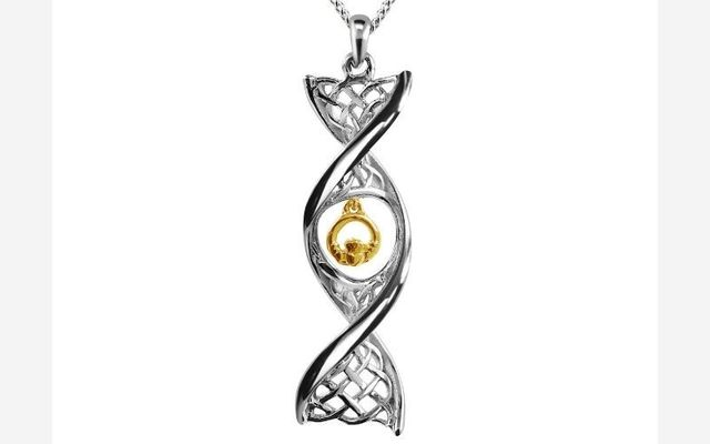 You could win a beautiful Claddagh silver necklace with Celtic DNA Jewelry!