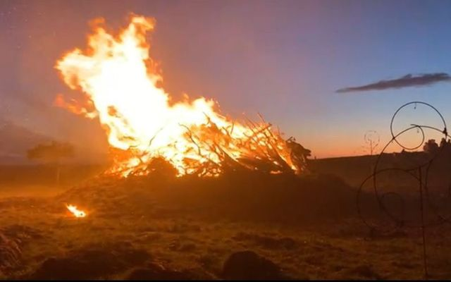 The Bealtaine Fire Festival in County Westmeath