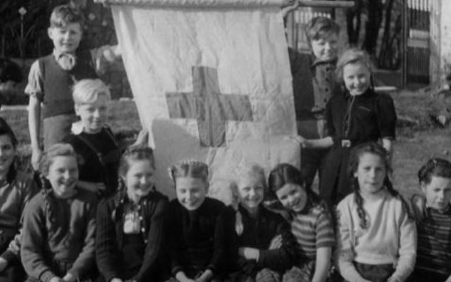 German refugees in Glencree shortly after the Second World War.