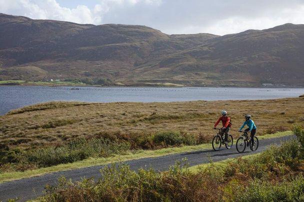 Cycling through County Mayo.