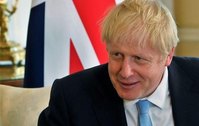UK Prime Minster Boris Johnson..