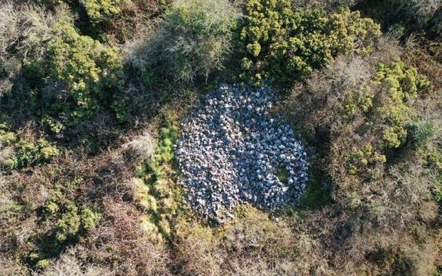 Cairn discovered in County Laois