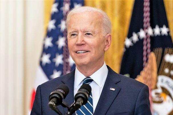 President Joe Biden pictured here on March 25, 2021.