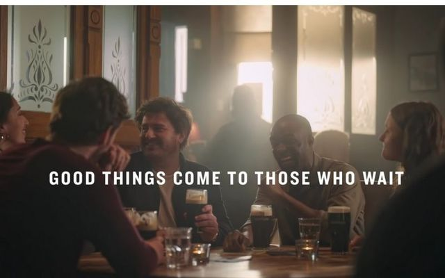 The new Guinness campaign welcomes the reopening of indoor pubs in Britain on May 17.