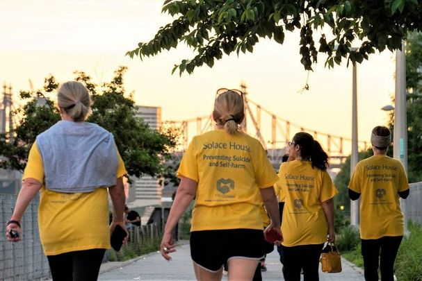 Scenes from the Solace Sunrise Walk 2019. Registration is now open for the 2021 nationwide events.