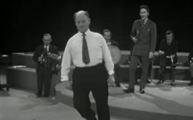 John Conneely performing his version of an Irish reel on the Late Late Show in 1972
