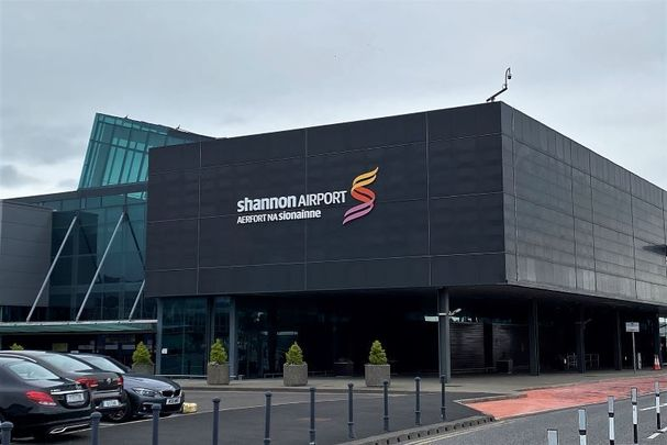 Shannon Airport in Co Clare, Ireland.
